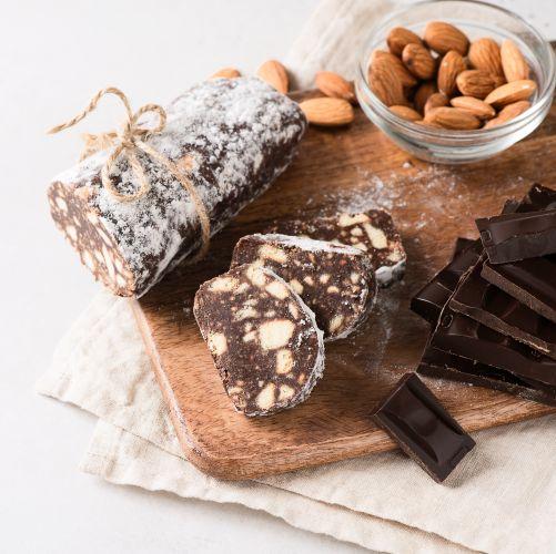 salame di cioccolato, facilissimo e goloso