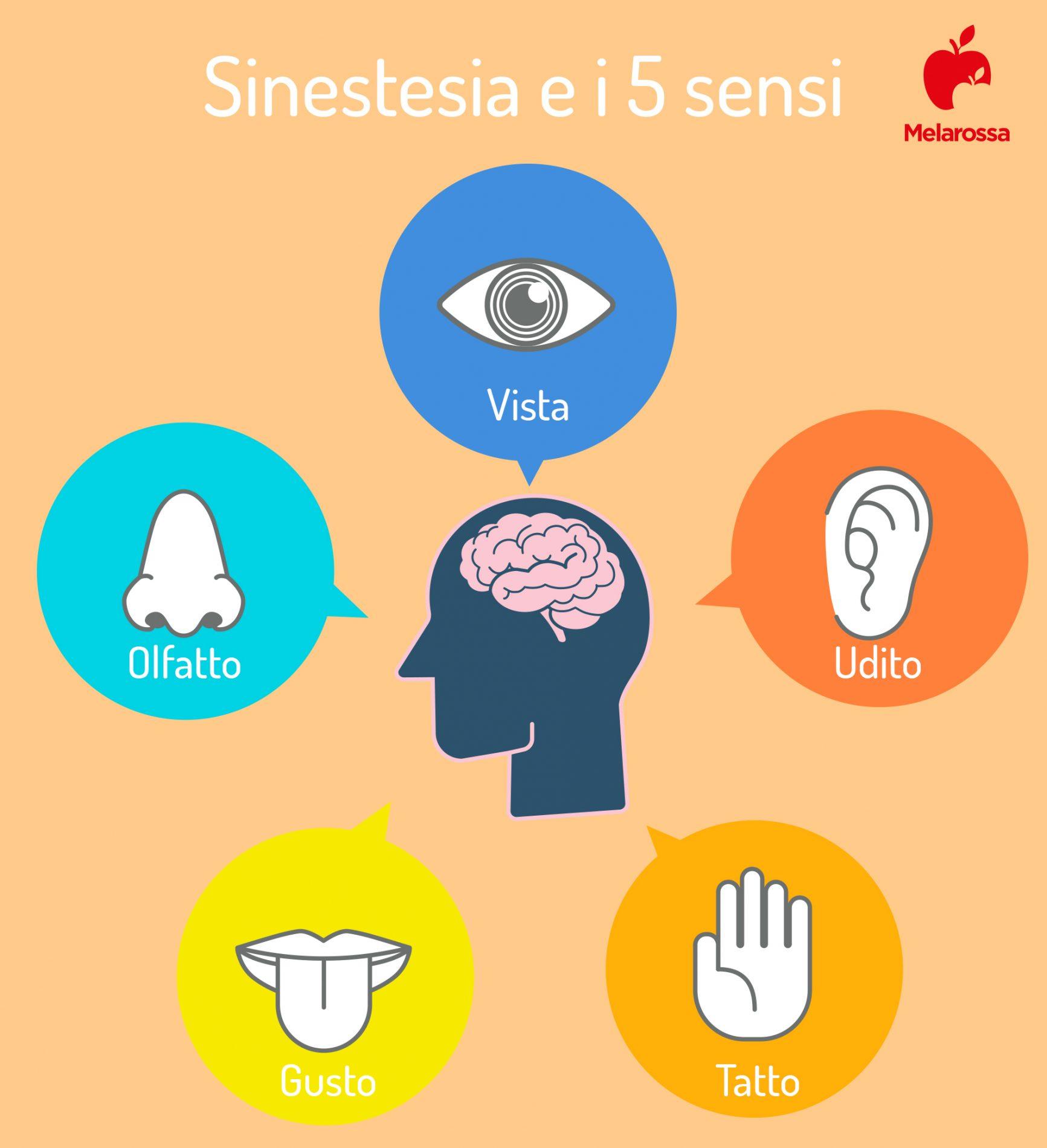 sinestesia e i 5 sensi