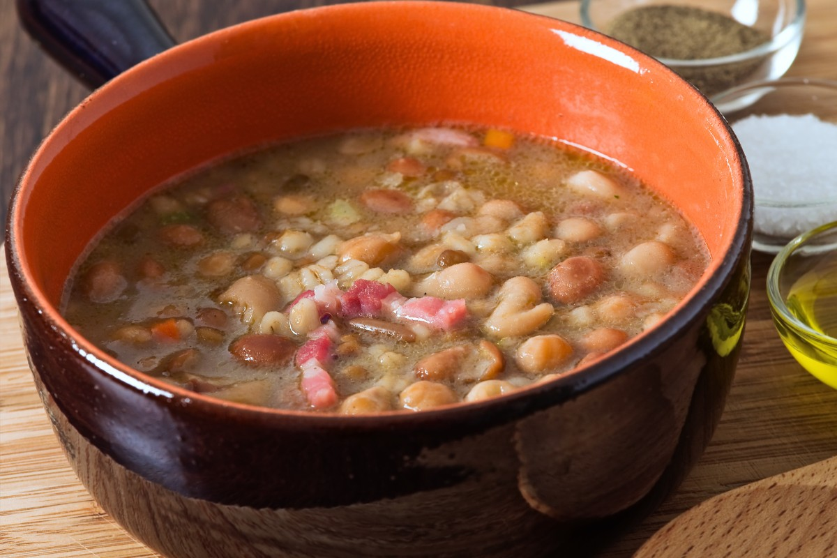 zuppa di farro ricetta