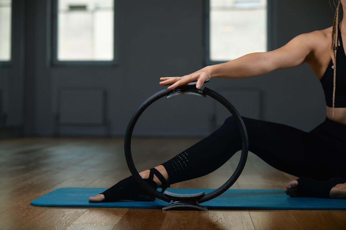 allenamento con il ring pilates