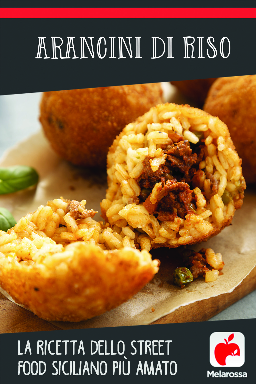 Arancini di riso, la ricetta dello street food siciliano più amato