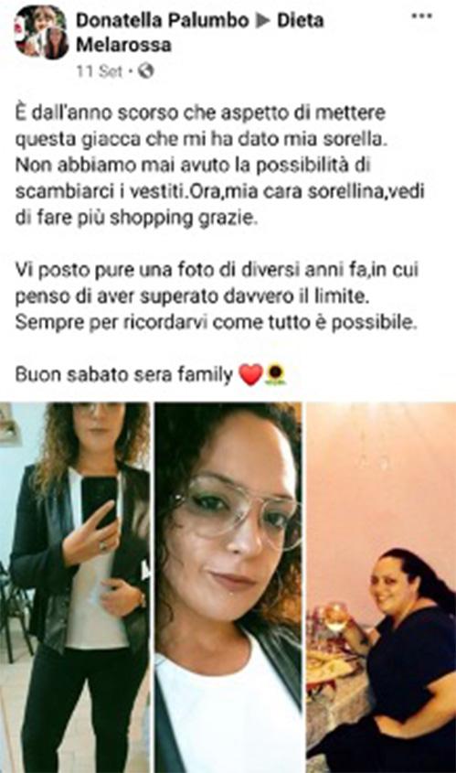 Donatella testimonial