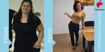 Dieta Melarossa Federica 21 kg