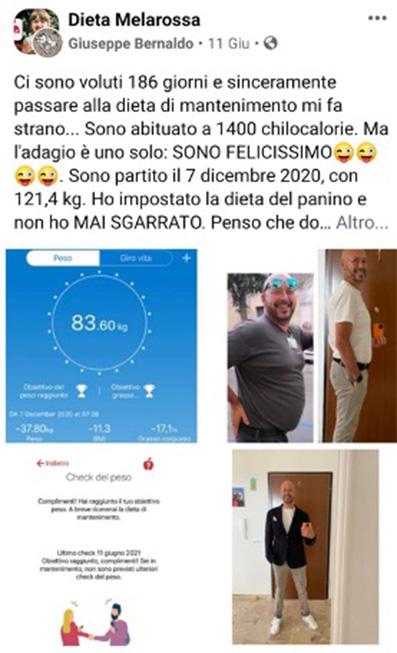 Giuseppe testimonial