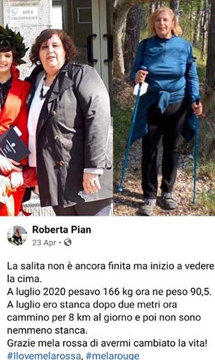 Roberta testimonial