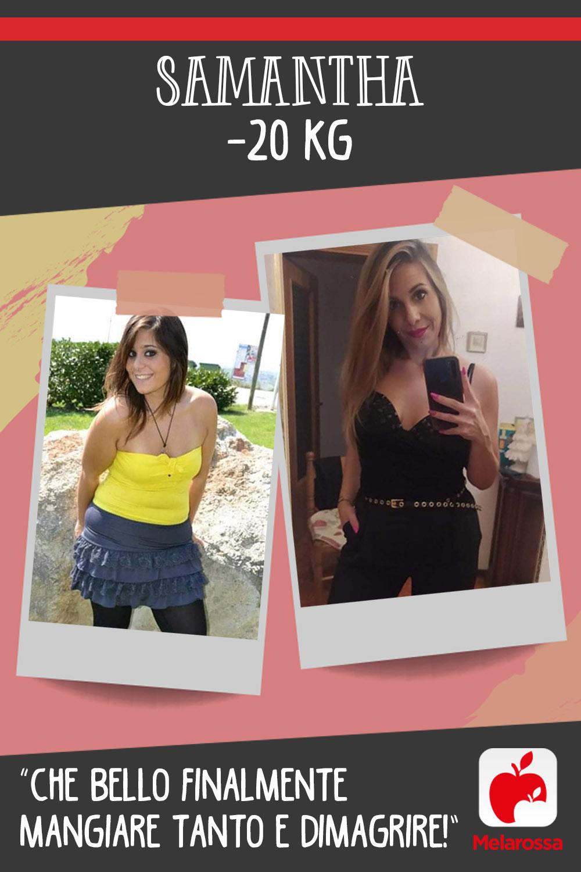 Testimonial Melarossa Samantha 20 kg