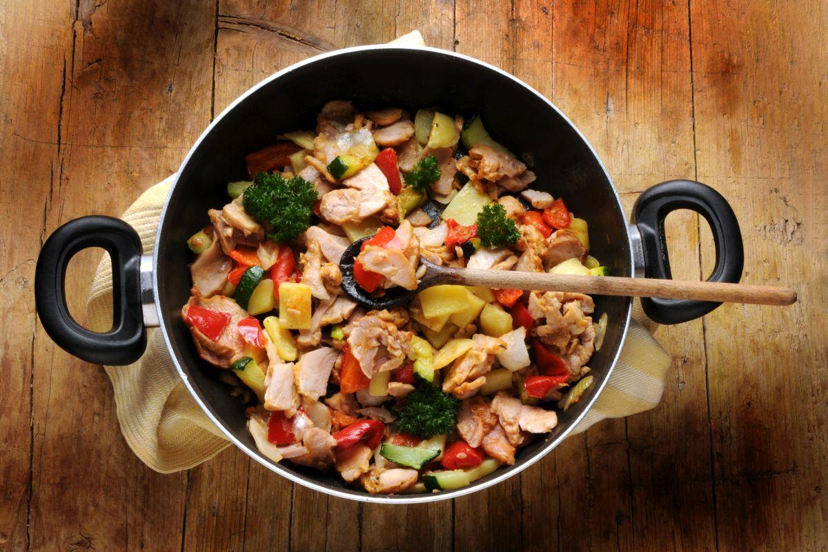 Straccetti di pollo, provali con le verdure