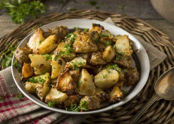 topinambur al forno, un contorno leggero e appetitoso